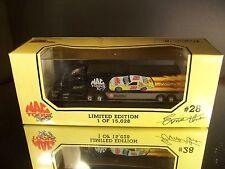 Rare Ernie Irvan #28 Mac Tools Racing 1994 1:87 Racing Team Transporter Premier