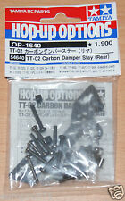Tamiya 54640 TT-02 Carbono Apagador Permanecer (trasera) (TT02/TT02D/TT02R/TT02T) nuevo en paquete