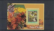 Togo 2014 neuf sans charnière fleurs de l'Afrique 1v s / s voacanga Flore Fleurs d'Afrique togolaise