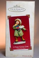 Hallmark - A Very Good Girl - A Visit From Santa - 2003 - Keepsake Ornament