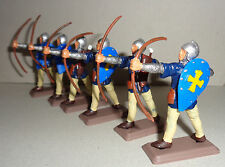 on foot JERUSALEM ARCHERS KNIGHTS Argentina DSG Medieval Toy Soldiers Britains