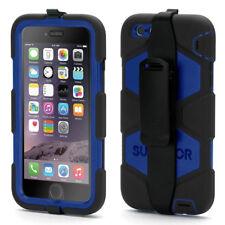 Griffin Survivor Tough Rugged Case Cover For Apple iPhone 6 Plus & 6S Plus, Blue