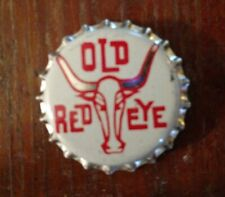 1950's OLD RED EYE  Cork-Lined  BOTTLE CAP SC203