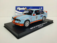 Slot car Scalextric Flyslot Ref. 038106 BMW M3 E30 Pittsburgh Vintage 2007