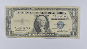 Crisp - 1935-F United States Dollar Currency $1 Silver Certificate *323