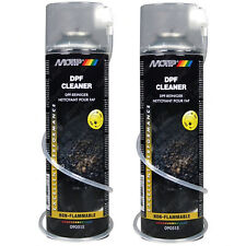 2x Motip DPF Cleaner Diesel Particulate Filter Cleaner Spray Non-Flammable 500ml