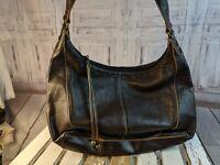 The sak purse Bag handbag shoulder leather satchel hobo brown casual