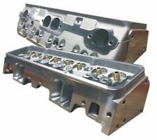 ProMaxx CNC Ported SBC 225cc Small Block Chevy Cylinder Heads BARE
