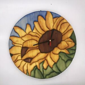 Clock Sunflower