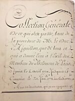1770 18c French Manuscript Calligraphy Handwritten 300+ pp Pre Revolutionary War