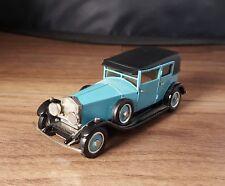 1927 ROLLS-ROYCE WAYMANN SALOON - 1/43 WESTERN MODELS WHITE METAL