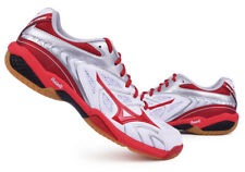 Mizuno FANG SS 2 Men's Badminton Shoes Wide Fit White Red Indoor NWT 71GA171062