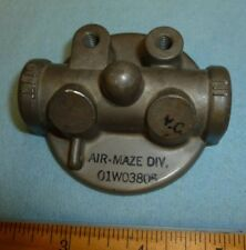 01W03805 Fuel Gascolator Head Assembly fits Piper & Various other Aircraft