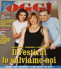 OGGI=2004/11=FESTIVAL SANREMO=AMANDA LEAR SALVADOR DALI=CHARLIZE THERON=URBANI=