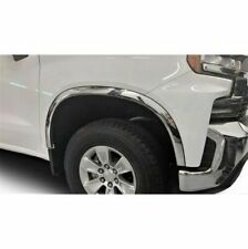 2019-2021 Chevy Silverado Polished Stainless Steel Fender Trim Molding Flares