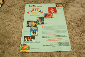 HANNA BARBERA with JONNY QUEST, TOY STORY, PINKY & THE BRAIN 1995 ad & OTHELLO
