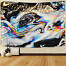 Abstract Painting Wall Tapestry Wall Hanging Trippy Tapestry For Bedroom Decor