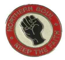 Soul Mantenere Il Northern Cerchio Rosso, Faith nero e argento smalto pin badge