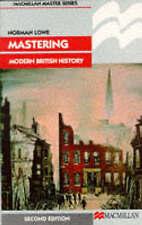 Mastering Modern British History (Macmillan Master), Lowe, Norman Paperback Book