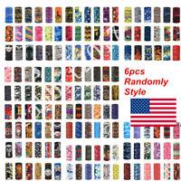 6pcs Randomly Style  Scarf Tube Bandana Face Snood Cover Neck Gaiter Headwear US