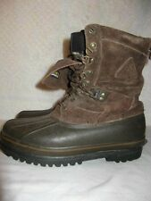 ROCKY thinsulate steel shank hunting  brown leather upper  boots mens 8