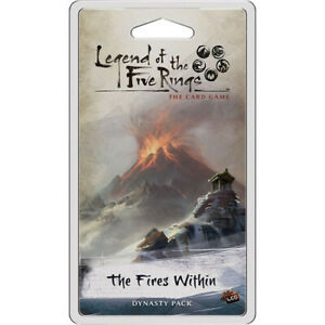 Legend of the Five Rings: LCG The Fires Within Dynasty Pack