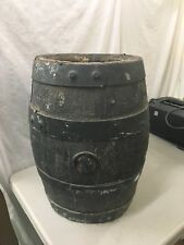 Antique Kiewel Brewing Co Little Falls MN Pabst Wood Beer Keg Barrel Vintage