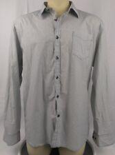 Kenneth Cole New York Mens Shirt 2XL XXL Button Up Long Sleeve Regular Fit BC