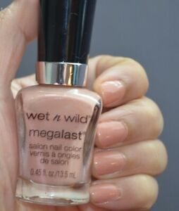 (2-PACK) Wet n Wild MegaLast Nail Color Polish, Private Viewing 204B, 0.45 fl oz