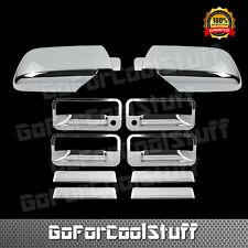 For 95 96 97 98 Chevy Tahoe  Chrome 4 Door Handle Mirror Cover