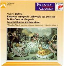 Ravel: Bolero / Rapsodie Espagnole / Alborada del Gracioso / Le Tombeau de Coup