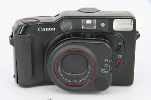 Canon Sure Shot Tele 40/70mm - 35mm Film Compact Camera As Is - Professionall...