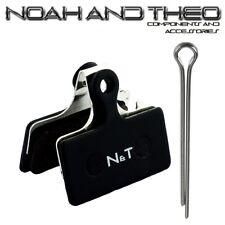 N&t Shimano G01A G01S G02A G03C G03Ti XTR Slx Semi Metálico Pastillas Frenos