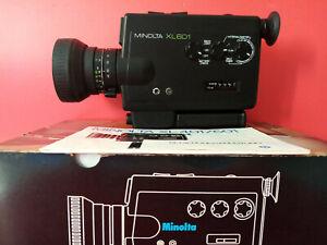 Vintage Design // Minolta XL 601. Super 8 Movie Camera in Original packaging /
