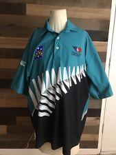 New Zealand Cricket Team Jersey Big Leaf Men's Size Large Rare Kiwi
