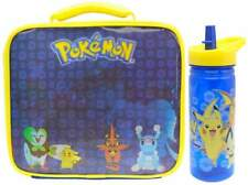 Pokémon Insulated Lunch Bag/Box and Sports Bottle (600ml) | Pokemon Lunchbox