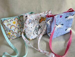 Childs Small Crossbody/Shoulde Bag - Gift Bag - Birthday - Handmade