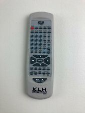 New listing Klh Ha9000 Home Theater System Genuine Remote Control Tested Working