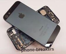 Apple iPhone 5 Arrière Châssis Arrière Couvercle du boîtier avec pièces Grade BC - * bon marché *