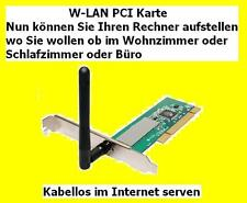 W-Lan PCI Card (PCI Adapter) 54 Mbit/S WL-130B R1.20