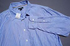 J. Crew Retail Long Sleeve Button Front Cotton Casial Shirt. NWT, Men's Size L.