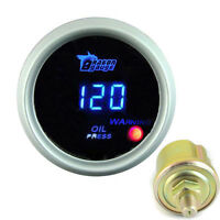 "New White 2"" 52mm DIGITAL LED 0-120 PSI OIL PRESSURE PRESS GAUGE AU"