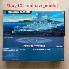 Trumpeter 1/200 03701 USS Arizona BB-39 1941 model kit▲