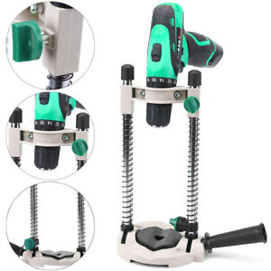 Perfect Drill Guide Stand Drill Holder Adjustable 45°Angle Positioning Bracket