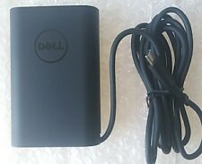 65W Genuine New Dell XPS 13 9370 9365 9360 9350 USB-C Adapter/Charger Power+Cord