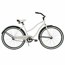 "Beach Cruiser Bike Women's 26"" Huffy White Ladies Bicycle NEW"