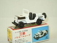 Mitsubishi Jeep Patrol van Diapet Yonezawa Toys P-15 Japan *2799