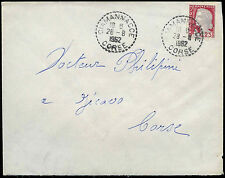 France 1962 Commercial Cover #C32989