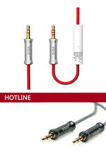 Vojo Professional Vehicle Audio AUX Cable With Mic For iPhone , iPod , iPad