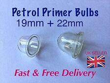 Fuel Primer Bulb X 2  , Mower, Blower ,Strimmer etc, 19mm & 22mm pack